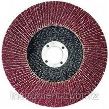 "Круг лепестковый торцевой,, 125 х 22,2мм, тип КЛТ1, ""Луга"" Р40"