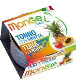 Monge Cat Fruits Влажный корм для кошек с фруктами тунец с фруктами, 80гр