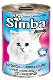 Simba 415г с Уткой и цесаркой консервы для кошек