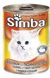 Simba Cat Симба консервы для кошек кусочки с индейкой, 415г