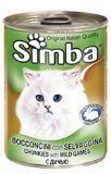 Simba 415г с дичью консервы для кошек