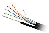 Кабель КСВППэт -5е 4*2*0,52. Уличный сетевой кабель с тросом., фото 1