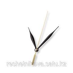 Стрелки для часовых механизмов(часовая/минутная/секундная) золото/черный