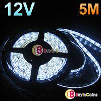 Гибкая автомобильная светодиодная лента SMD 3528 (5м.белая)