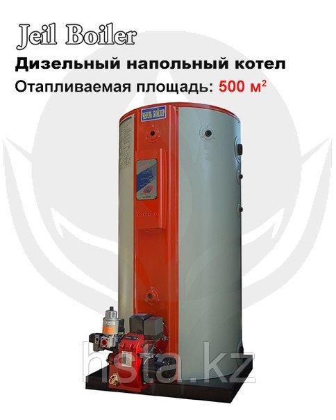 Жидкотопливный котел Jeil Boiler STS 500 + горелка
