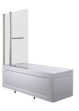 Стеклянная перегородка, шторка половинчатая на ванну  -   Р-05 (85х150 см), фото 2