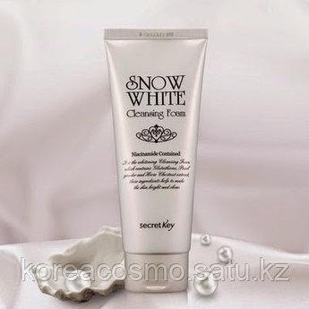 Отбеливающая пенка Secret Key Snow White Cleansing Foam