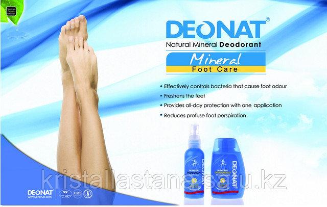 Порошок для порблемных ног Деонат с добавлением ментола , 50 гр