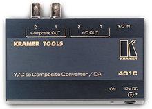 Усилитель-распределитель и преобразователь сигнала s-video в композитный сигнал