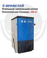 Котел угольный, одноконтурный, стальной,водогрейный,возможна установка ТЭН ПРОМЕТЕЙ-24