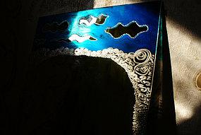 Зеркала с рисунком ручной работы 2