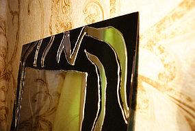 Зеркало художественное с рисунком ручной работы 10