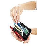 Кошелек алюминиевый, красный «МУЛЬТИКАРД» Aluma wallet