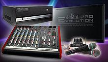Звуковое и световое оборудование, шоу техника