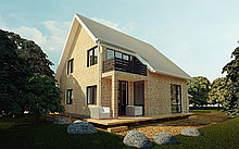 Дизайн-проетк индивидуального жилого дома