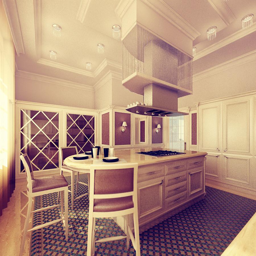 Дизайн-проект классической кухни