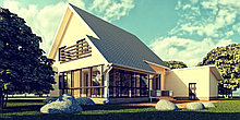 Дизайн и проектирование индивидуального жилого дома
