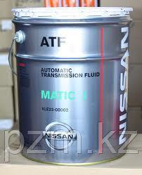 Трансмиссионное масло для АКПП Nissan ATF Matic J, KLE23-00002  (1л)