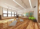 Дизайн зала для йоги с детской площадкой, фото 2