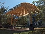 Дизайн-проект деревянных навесов для автомобилей, фото 4