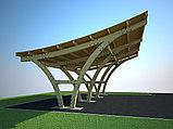 Дизайн-проект деревянных навесов для автомобилей, фото 6