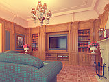 Дизайн-проект классической гостиной, фото 2
