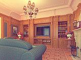 Классическая гостинная - дизайн, фото 2