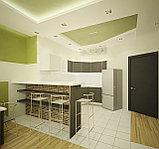 Дизайн современной кухни и гостиной, фото 2