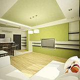 Дизайн-проект современной кухни и гостиной, фото 3
