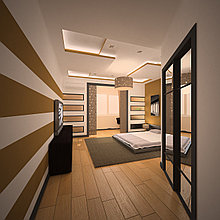 Проект-дизайн спальни