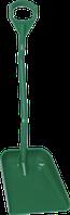 Эргономичная большая лопата с короткой ручкой, 380 x 340 x 90 мм., 1140 мм