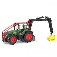 Трактор Fendt 936 Vario лесной с манипулятором, фото 1