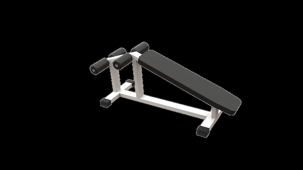 Скамья с обратным уклоном (AR002)