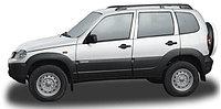 Рейлинги с поперечинами Chevrolet Niva, фото 1