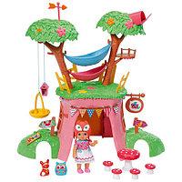 Игрушка CHOU CHOU Мини-лисичка Дерево-домик функц. с куклой, кор.