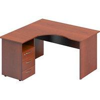 Стол угловой со встроенной тумбой