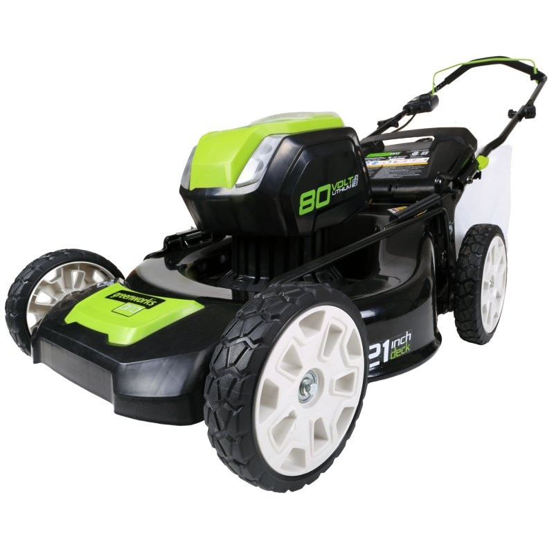 Аккумуляторная газонокосилка Greenworks DigiPro 80V