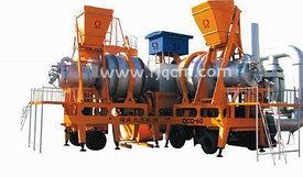 Мобильный асфальтный завод QCQ-80 из Китая 80 тонн/час