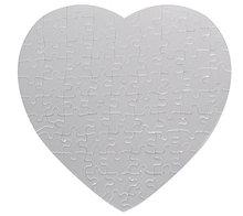 Пазл для сублимации сердце (75 элементов)