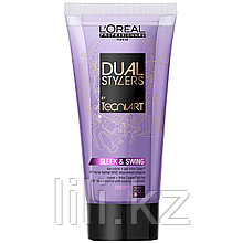 Крем- гель гладкость для непослушных волос L`Oreal Professionnel tecni.art Dual Stylers Sleek&Swing, 150 мл.