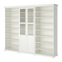 Шкаф комбинация д/хранения ЛИАТОРП белый ИКЕА, IKEA