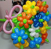 Букет цветов из шаров 11 цветов (разные цвета) в Павлодаре, фото 1