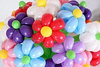 Букет цветов из шаров 21 цветов (разные цвета) в Павлодаре, фото 1