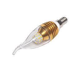Светодиодная лампа Е14, 220V, 5W (свеча на ветру)