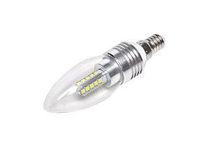 Светодиодная лампа Е14, 220V, 5W (свеча)