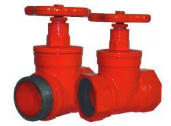 Клапан пожарного крана прямоточный КПК-65(180)