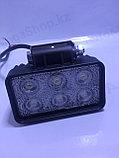 Led фары 2 рядные светодиодные, фото 2