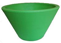Цветочный горшок VASAR CMP 52 verde - D52*H30cm, фото 1