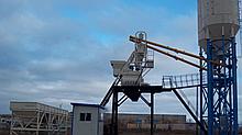 Мобильный бетонный завод HZS35