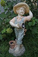 """Фигура садовая """"Мальчик с фонарем"""", фото 1"""